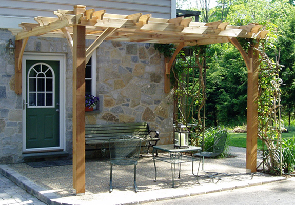 12'x12' Attached Breeze Pergola